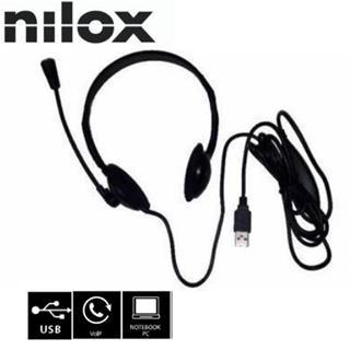 Auriculares Nilox Cuffie Nx120600101