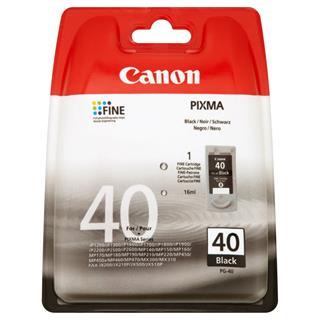 Fotos Canon Black Ink Cartridge PG-40 BL EUR w/Sec