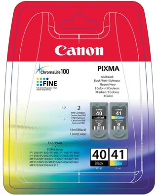 Fotos CANON PG-40/CL-41 MULTIPACK BLISTER   2 CARTRIDG