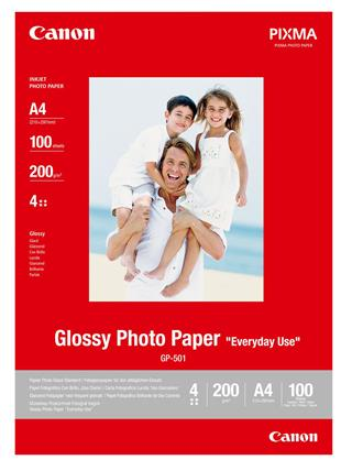 Fotos CANON GP-501 GLOSSY PHOTO PAPER       .