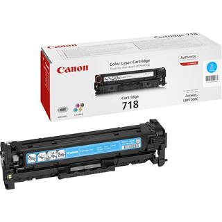 Fotos CANON TONER CYAN CRG 718              F/ LPB 7200C
