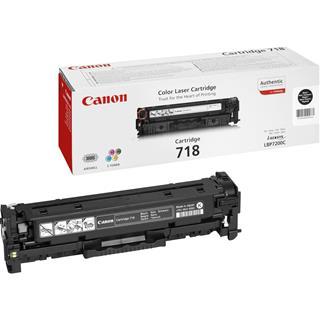 Fotos CANON TONER BLACK CRG 718             F/ LPB 7200C
