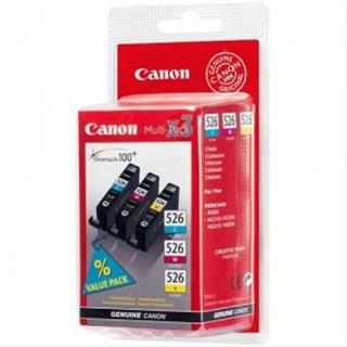 Fotos CANON CLI-526 C/M/Y MULTIPACK BLISTER COLOUR INK CARTRID