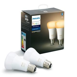 Philips Hue White Ambiance 2 Bulb E27 Bt