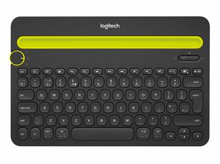 Fotos LOGITECH MULTI-DEVICE KEYBOARD K480      BLUETOOTH BLACK US-LAYOUT