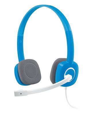 Fotos Logitech Stereo Headset H150 Blueberry
