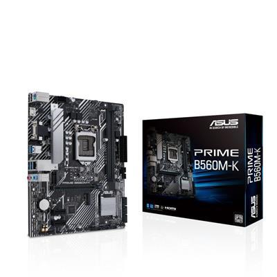Asus Prime B560m- K Intel B560 Lga 1200 Micro Atx . . .