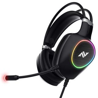 Auriculares Abkoncore Ch55 Virtual 7. 1 Gaming Rgb . . .