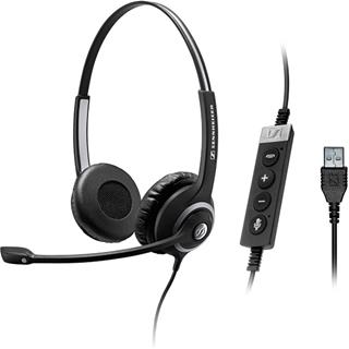 Auriculares Sennheiser Sc 260 Ms Ii Usb Con Cable . . .