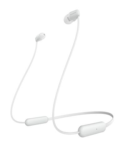 Auriculares Sony Wic200w Inalambrico Blanco
