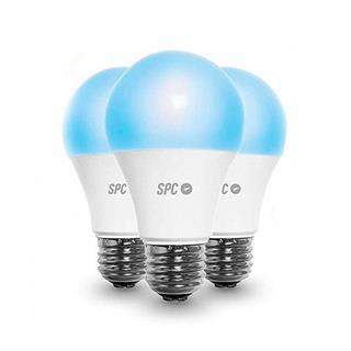 Bombilla Inteligente Spc Aura 1050 10W Pack 3 Uds . . .