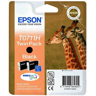 Fotos EPSON BLACK TWIN PACK INKS T071       S1 - SIN ETIQUE