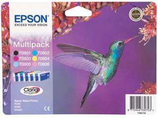 Fotos Epson T080 Multipack