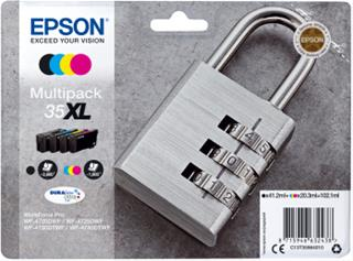 Fotos Cartuchos de Tinta EPSON MULTIPACK 4-COLOURS 35XL        PADLO