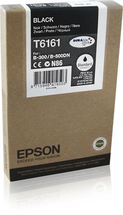 Fotos EPSON STANDARD CAP. INK CARTRIDGE     BLACK F/ BUS INK B300 / B500DN