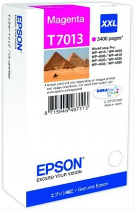 Fotos EPSON INK CARTRIDGE XXL MAGENTA 3.4K  WP4000/4500 SERI