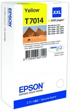 Fotos EPSON INK CARTRIDGE XXL YELLOW 3.4K   WP4000/4500 SERI