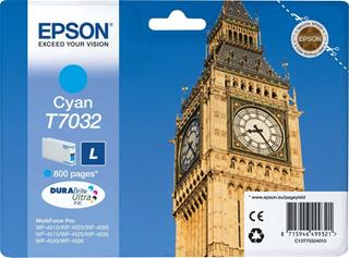 Fotos EPSON INK CARTRIDGE L CYAN 0.8K       WP4000/4500 SERI