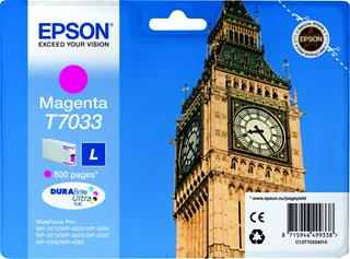 Fotos EPSON INK CARTRIDGE L MAGENTA 0.8K    WP4000/4500 SERI