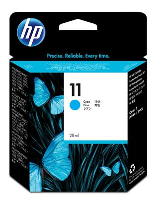 Fotos HP 11 Cyan Ink Cartridge