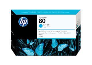 Fotos HP Ink Cart/No 80 cyan 350ml f DJ1xxx