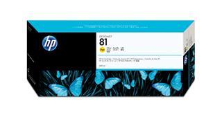 Fotos HP No81 Ink Cart/yellow 680ml f DGJ5000