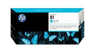 Fotos HP Printhead/cyan No81 f DesignJet5000