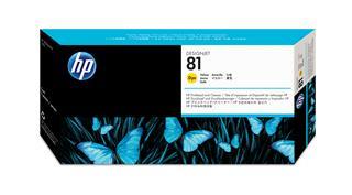 Fotos HP InkCart/Yellow Printhead No.81 f DGJ