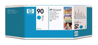 Fotos HP Ink Cart/No 90 cyan 400ml