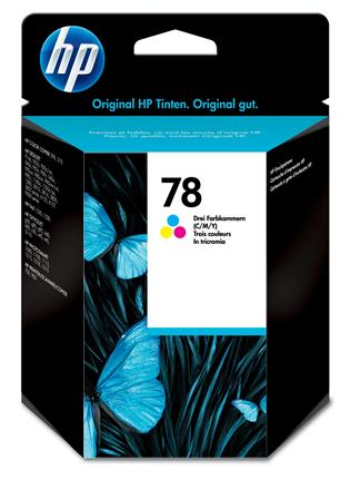 Fotos HP 78 Tri-color Ink Cartridge