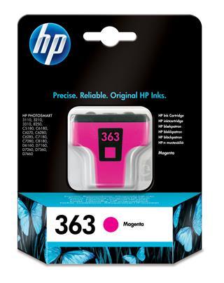Fotos HP No 363 Ink Cart/Magenta 3.5ml