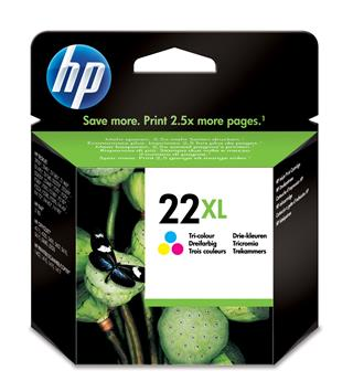 Fotos HP Ink Cart 22/Tricol XL