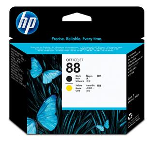 Fotos HP No 88 Printhead/black+yellow