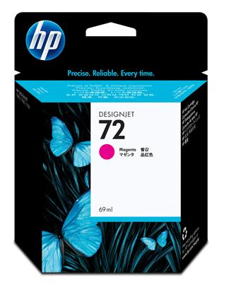 Fotos HP No72 Ink Cart/magenta  69ml