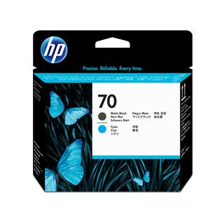 Fotos HP No 70 Printhead/matte black+Cyan