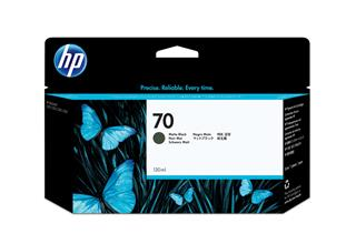 Fotos HP No 70 Ink Cart/130 ml Matte Black wvi