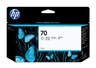 Fotos HP No 70 Ink Cart/130 ml Light Grey w/vi