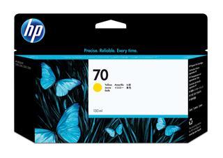 Fotos HP No 70 Ink Cart/130 ml Yellow w/vivera