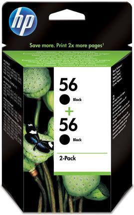 Fotos HP Ink Cart 56/black 19ml 2pk