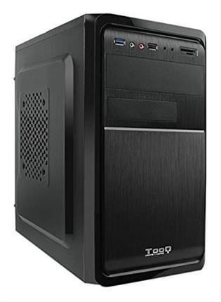 Caja Minitorre Tooq Tqc- 4735U3cm- Atx Usb 3. 0 Negra