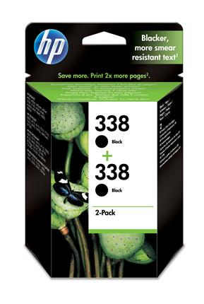 Fotos HP No338 Ink Cart/bk with Vivera Ink 2pk
