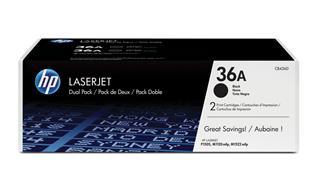 Fotos Pack de ahorro de 2 cartuchos de tóner original LaserJet HP 36A negro