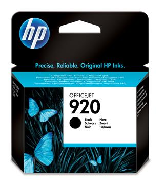 Fotos HP 920 Black Officejet Ink Cartridges