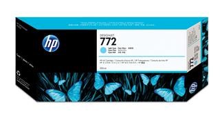 Fotos HP 772 300-ml Light-Cyan Ink Cartridge