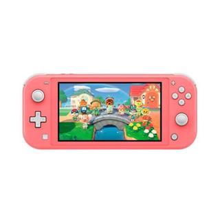 Consola Nintendo Switch Lite Coral . . .