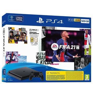 Fotos Consola Sony PS4 SLIM 500GB  + FIFA 21