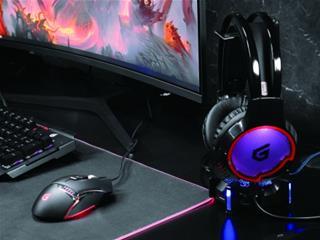 Auriculares Gaming 7. 1 Athan01b Compatible Pc.  . . .