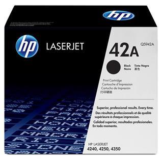 Hewlett Packard Toner Hp Laserjet 42A Negro . . .