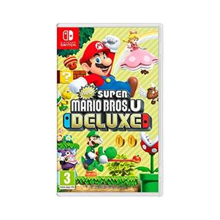 Juego Nintendo Switch New Super Mario U Deluxe