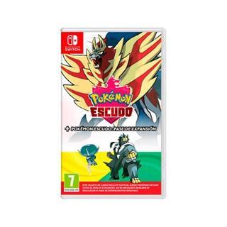Juego Nintendo Switch Pokemon Escudo+ Pase De . . .